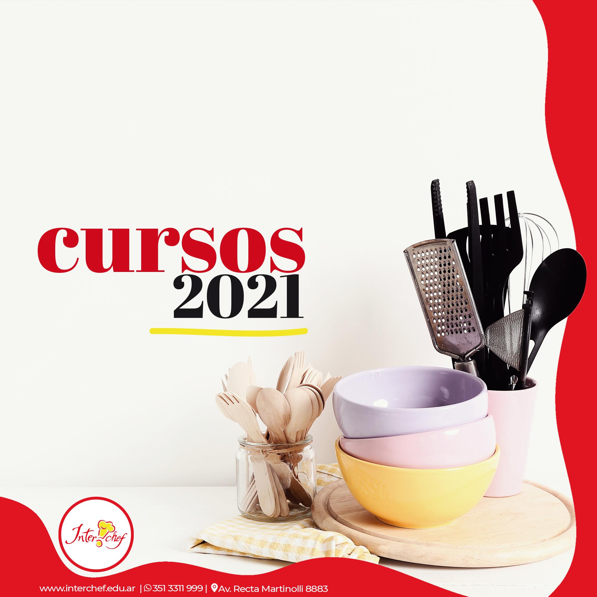 Cursos 2021 ¿A cuál te vas a anotar?